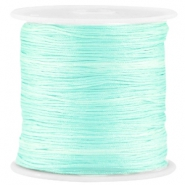 Macramé satijndraad 0.8mm Light crysolite green