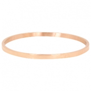 Stainless steel armband Rosegold