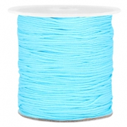 Macramé draad 1.0mm Light blue
