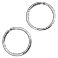 Roestvrij stalen (RVS) buigring stainless steel 8mm Zilver (RVS)
