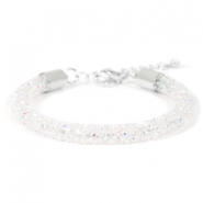 Crystal diamond armbanden 7mm Crystal aurore boreale