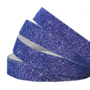 Crystal glitter tape 5mm Indigo blue