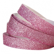 Crystal glitter tape 5mm Fuchsia
