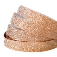 Crystal glitter tape 5mm Rosegold