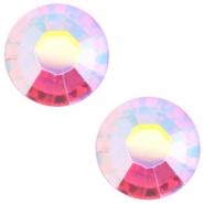 Swarovski Elements SS 34 flat back  (7mm) Rose aurore boreale