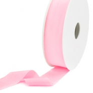 Elastisch lint Ibiza 25mm Light rose